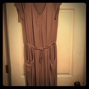 VENUS taupe color super comfy jumpsuit